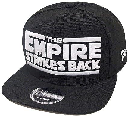 8200c4a08edc5 New Era Star Wars V Snapback Cap Black Grey 9fifty 950 OSFA Basecap limited  edition