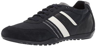 Geox GARLAN U923GB Herren Low Top Sneaker,Männer Halbschuh