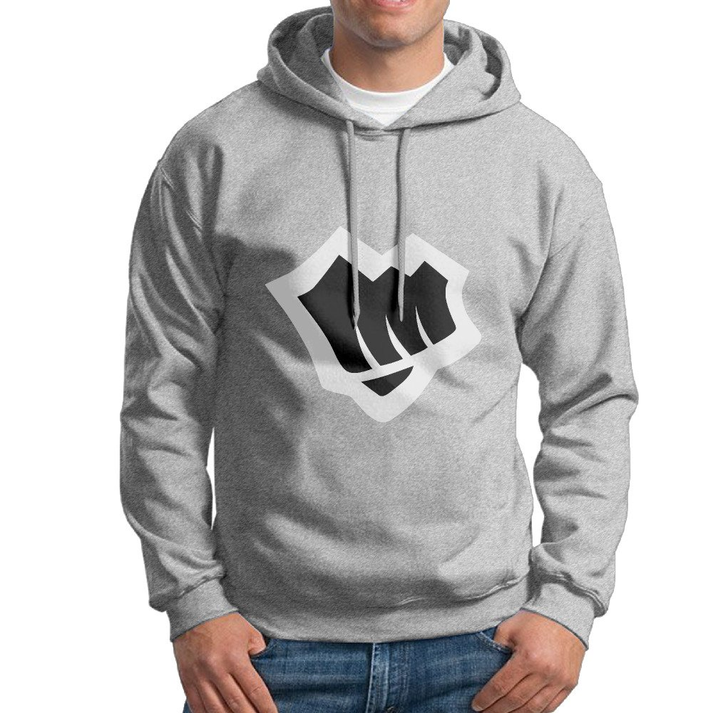 PTR Mens Sweater Riot Fist Game Logo Ash