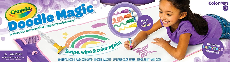 Crayola Doodle Magic Color Mat Purple Dealfisher 0419840DUM