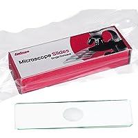 AmScope BS-C12microscopio diapositivas único depresión cóncava Pack