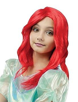 Fun World Ariel Princess - Peluca de Sirena para niño
