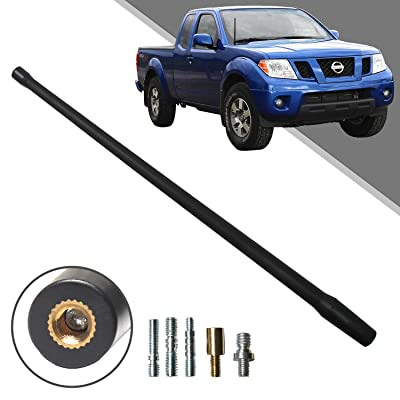 Beneges 13 Inch Flexible Rubber Replacement Antenna Compatible with 1998-2020 Nissan Frontier, Optimized FM/AM Reception.: Car Electronics