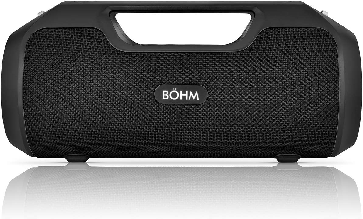 B HM Impact Plus Wireless Bluetooth Speaker Water Resistant IPX4 40W Premium HD Sound Powerbank Dual Pairing TWS Stereo