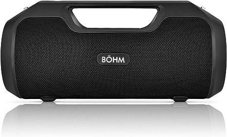 BÖHM IMPACT Water Resistant Portable Wireless Bluetooth Speaker System BOHM