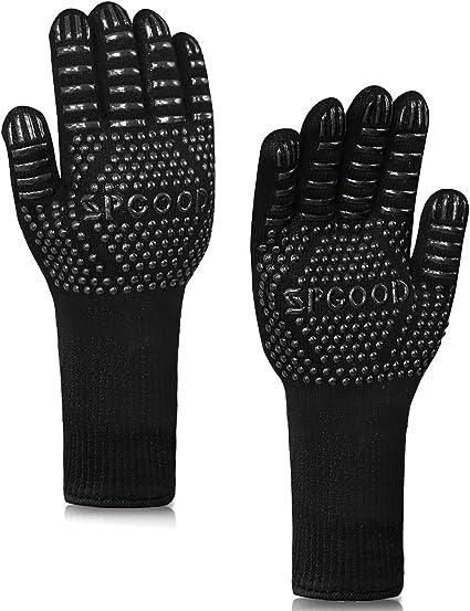 Grill Handschuhe Hitzebeständig Ofenhandschuhe Backhandschuhe Handschuhe