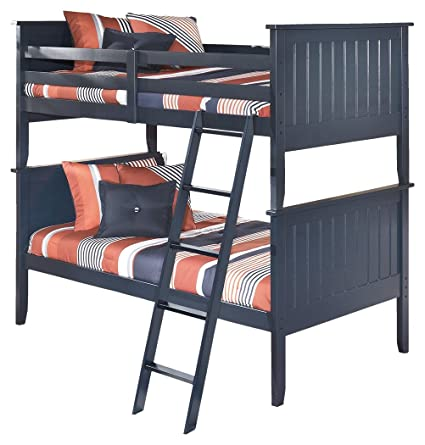 Amazon Com Ashley Furniture Signature Design Leo Kids Bunk Bed
