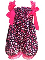 niceEshop(TM) Baby Girl Dual Strap Bloomers One-Piece Ruffle Rompers