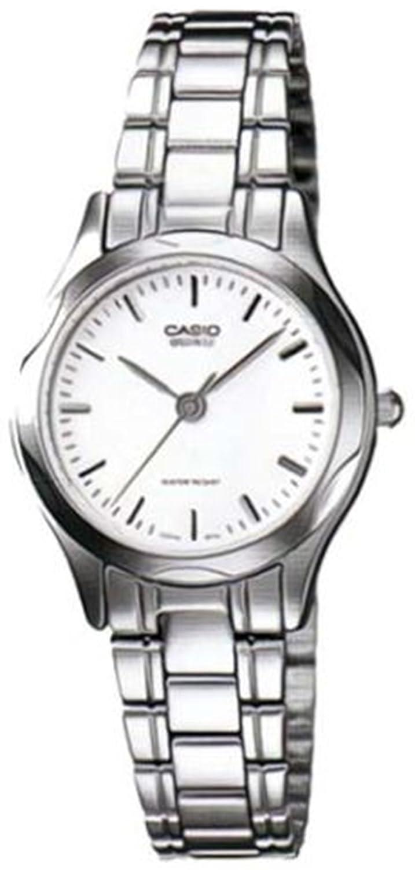 056f041efd7 Amazon.com  Casio General Ladies Watches Metal Fashion LTP-1275D-7ADF - WW   Casio  Watches