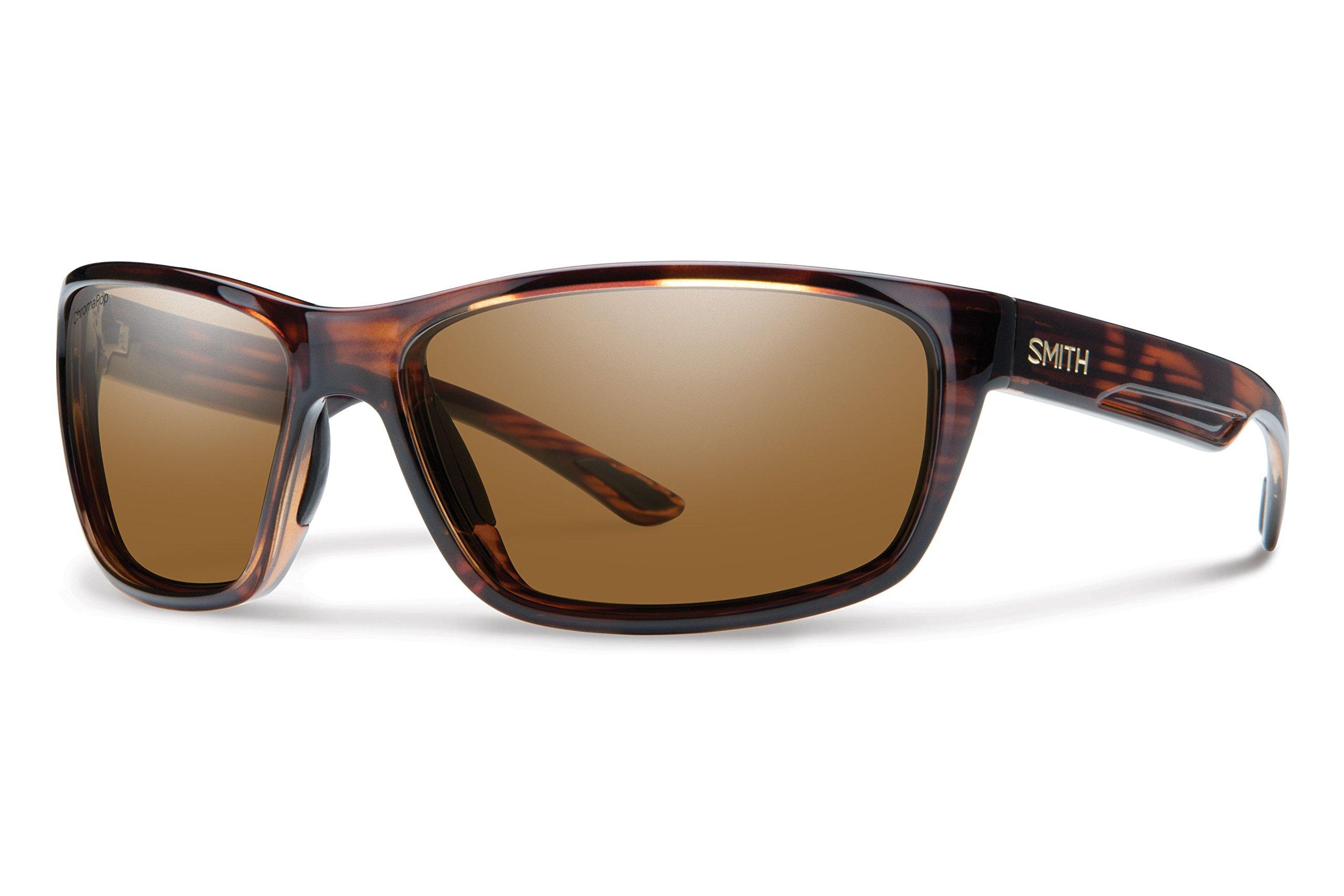 Smith Optics Mens Redmond Lifestyle Polarized Sunglasses - Tortoise/ChromaPop Brown
