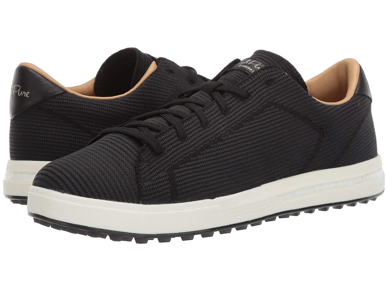 [アディダス] メンズゴルフシューズ靴 Adipure SP Knit [並行輸入品] 27.0 cm Core Black/Carbon/Cyber Metallic B07Q18N83W