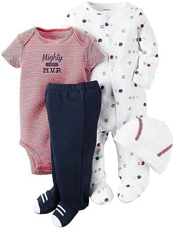 871e1ccb4 Amazon.com  Carter s Baby Boys  4 Pc Sets 126g356