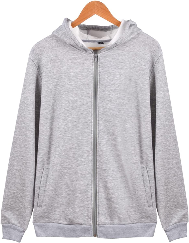 Olive Tayl Solid Hoodies Women Hooded Sweatshirt Zipper Jacket Plain Fleece Streetwear for Girl Winter Autumn