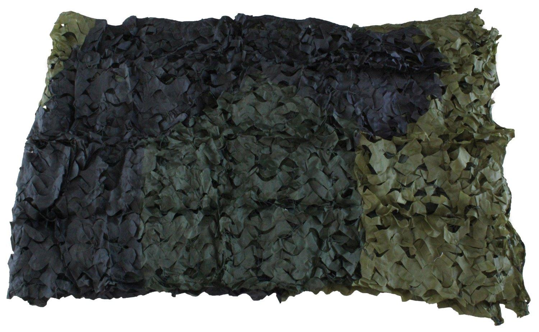 Inet-Trades GmbH - Red de camuflaje, 6 x 3 m / 3 x 2 m