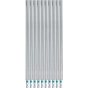 Makita A-96986 Impactx 2-3/8″ One Piece Magnetic Insert Bit Holder, 10 Pack, Bulk - - Amazon.com