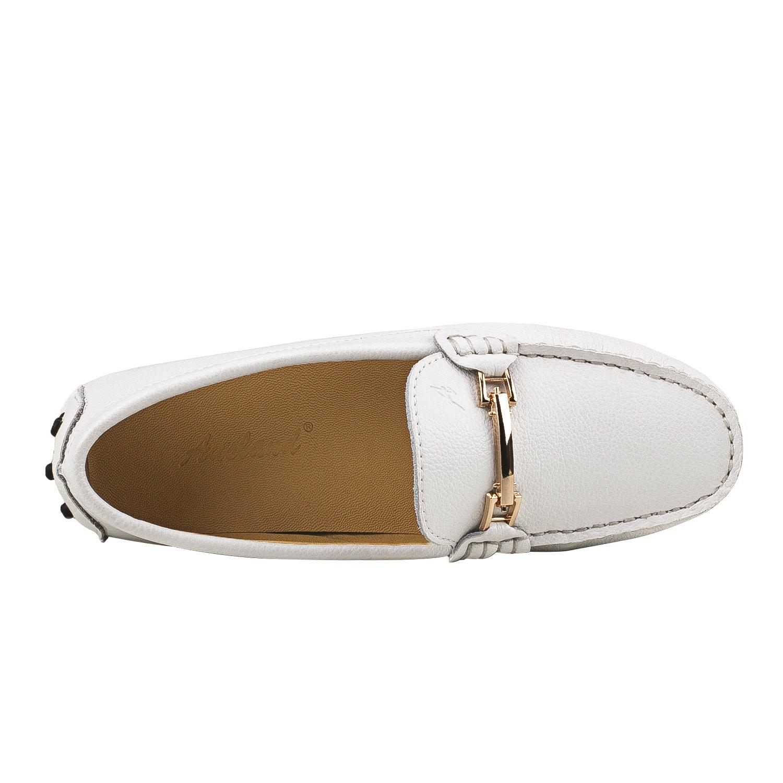 Shenduo Scarpe Donna - Mocassini Donna di di di Pelle Liscia, Loafers Scarpe Casual D7067 65eb32