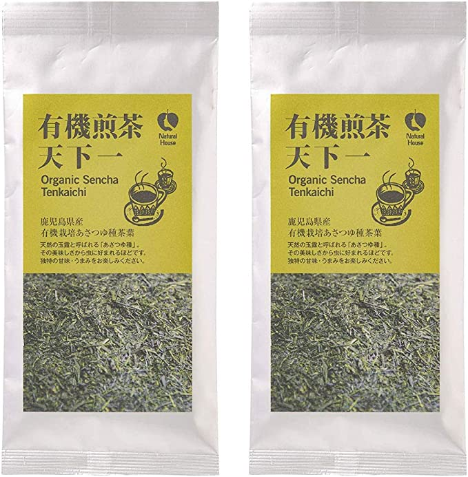 [ナチュラルハウス] 日本茶 有機煎茶天下一 65g×2袋 オーガニック