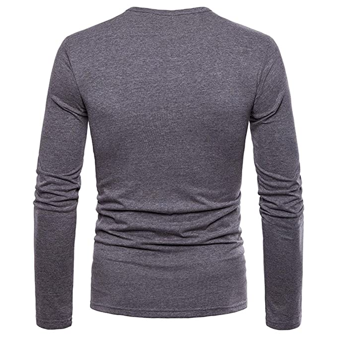 JiaMeng Suéter de Hombre Camisa de Manga Larga Casual Jersey de Punto Caliente Camisetas Hombre Slim fit Blusas: Amazon.es: Ropa y accesorios