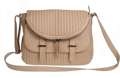 a062c7d698a5 Charles Jourdan Kane Natural 100% Leather Shoulder Cross Body Bag ...