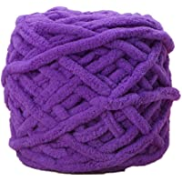 Fancyku Soft Thick Yarn DIY Scarf, Sweater, Towel, Socks, Hats, Knitting Chunky Towelling Yarn Ball(100g/ball)