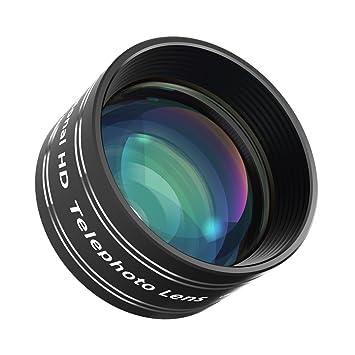 mozeat Lens Lente Funda Clip 2 X Lente de zoom con UNIVER Saler ...