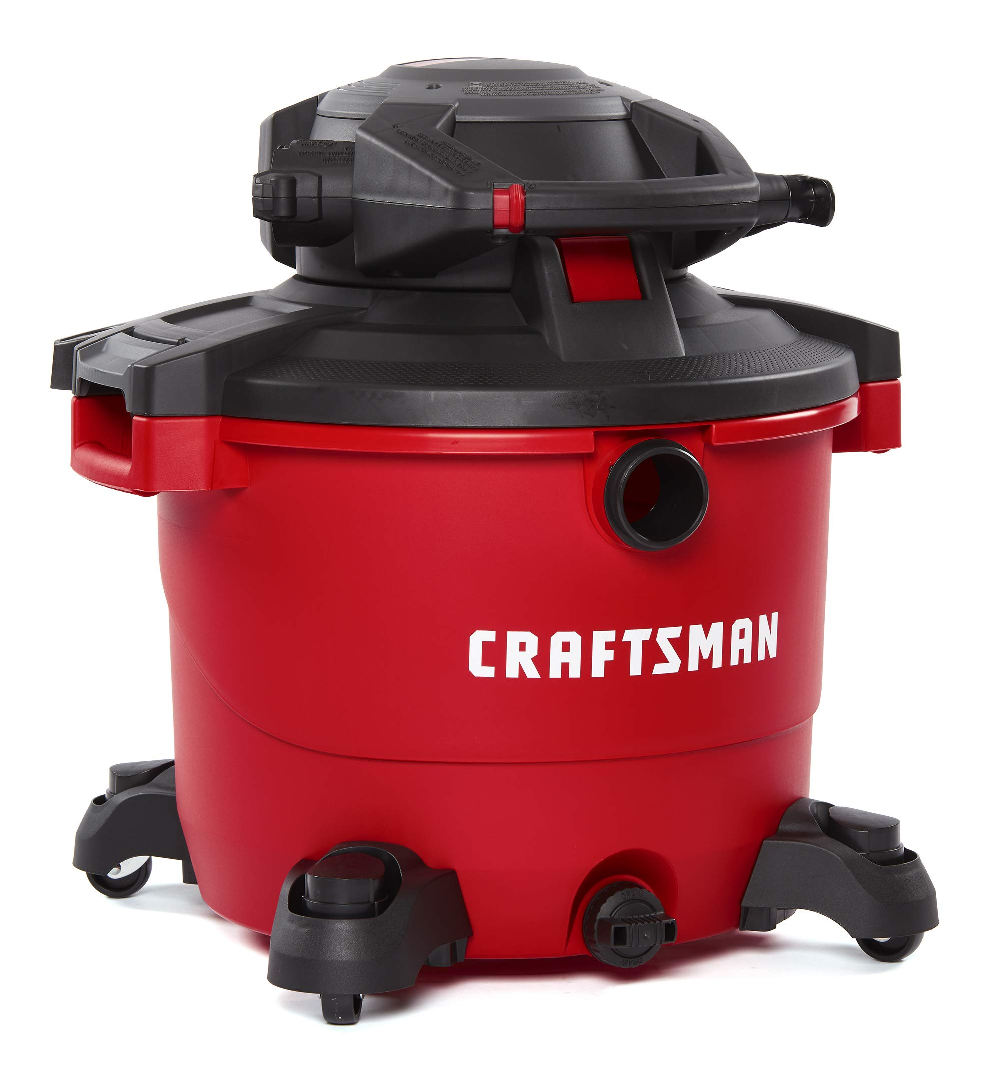 CRAFTSMAN CMXEVBE17607 16 Gallon 6.5 Peak HP Wet/Dry Vac with Detachable Leaf Blower, Heavy-Duty Shop Vacuum with Attachments by Craftsman