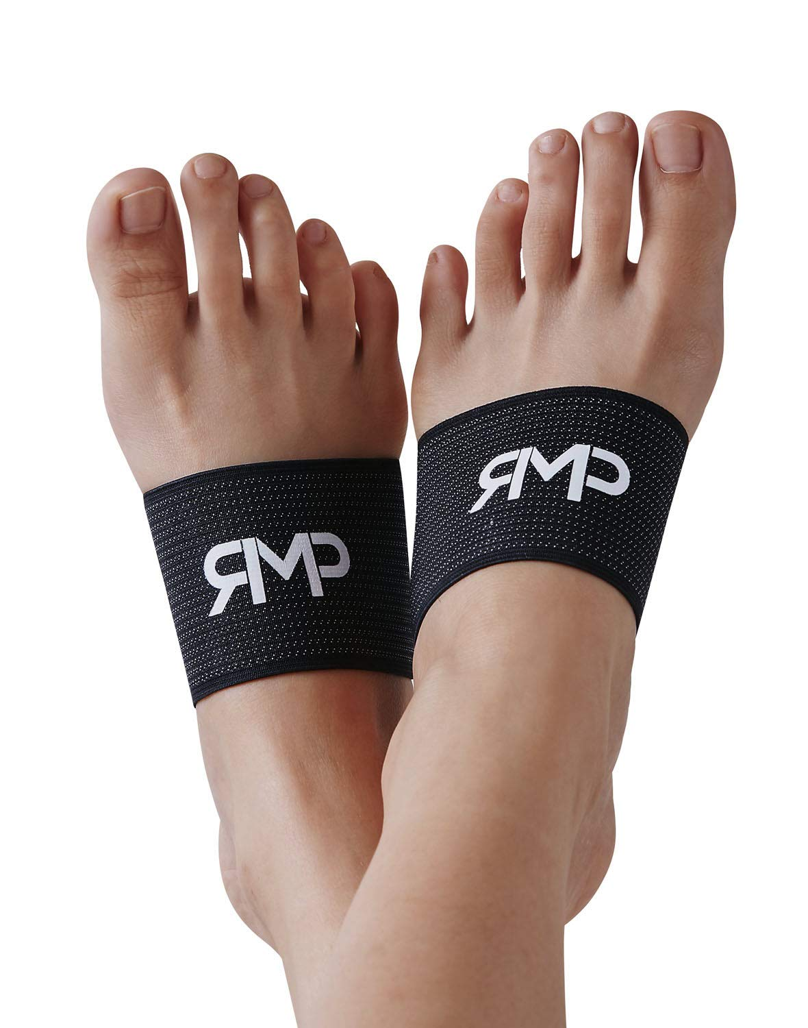 Arch Compression Sleeves for Plantar Fasciitis - Excellent for High Arches, Flat Feet, Heel or Foot Pain (1 Pair)