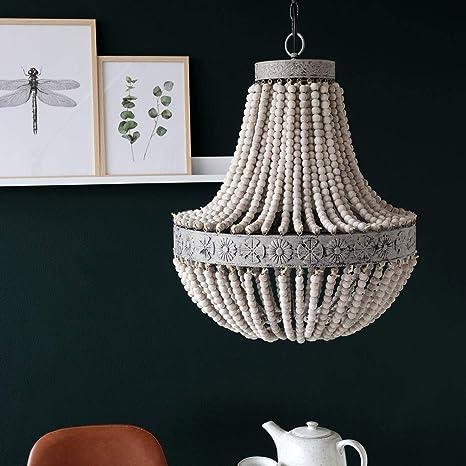 Light & Living Luna - Lámpara de techo colgante alargada con ...
