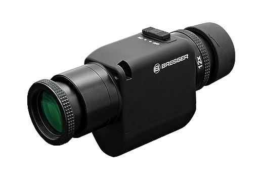 Bresser zoom monokular 6 12x30 mit bildstabilisator: amazon.de: kamera
