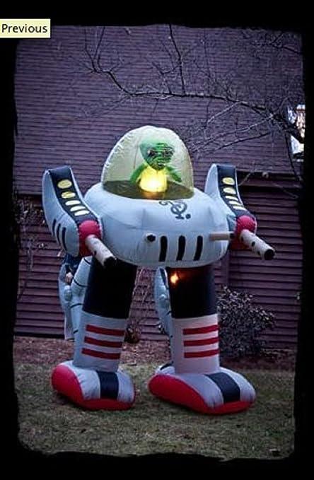 Amazon.com: Morbid Alien Robot Halloween inflable # 37160 ...