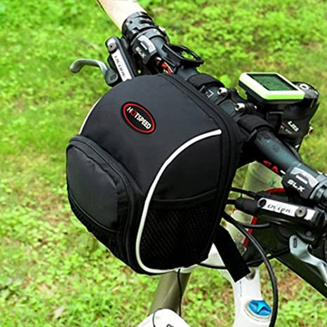 humefor para bicicleta Ciclismo Manillar bolsa cesta delantera MTB ...
