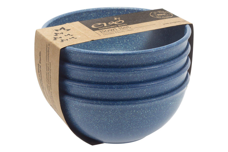 EVO Sustainable Goods 16 oz. Bowl Set, Blue