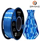 PLA Filament 1.75mm Silk Blue, Eyone Silky Shiny Filament PLA 1.75mm, 3D Printing Filament PLA for 3D Printer and 3D Pen, 1kg 1 Spool