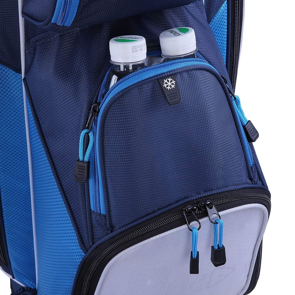 RAM Golf Lightweight Ladies Cart Bag with 14 Way Full Length Dividers Blue/White by RAM (Image #6)
