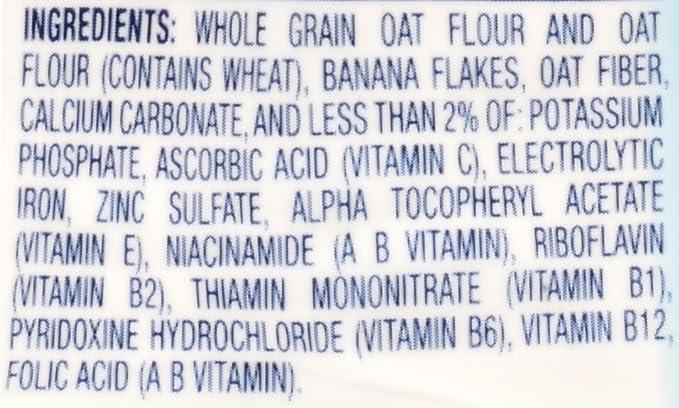 La harina de avena y cereales pl_tano 8 oz (227 g) - Gerber: Amazon.es: Alimentación y bebidas