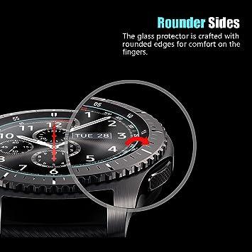 DOSMUNG Protector de Pantalla para Samsung Galaxy Watch 46mm ...