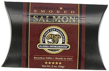 Alaska Smokehouse 2 Ounce Smoked Salmon