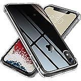 【ONES】 iPhone XR ケース 高透明 米軍MIL規格〔衝撃吸収、レンズ保護、滑り止め、軽い、フィット感〕『エアクッション技術、半密閉音室、Qi充電』 Airシリーズ カバー クリア