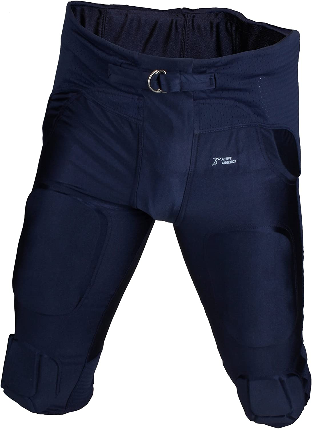 """Full Force football gamepants with 7 integrated pads /""""All in One/"""" black"""