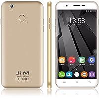 JHM X11 5.5 '' Android 6.0 MTK6737 Quad Core 1.3GHz RAM 2GB ROM 16GB Desbloqueado WCDMA GPS HD IPS Huella digital Desbloquear Touch ID 4G Smartphone