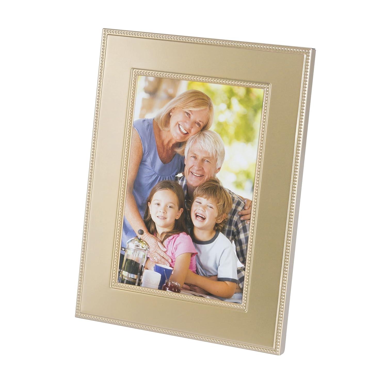 Elegance Silver Plated Prism Frame 8 x 10 Leeber Limited USA 81338