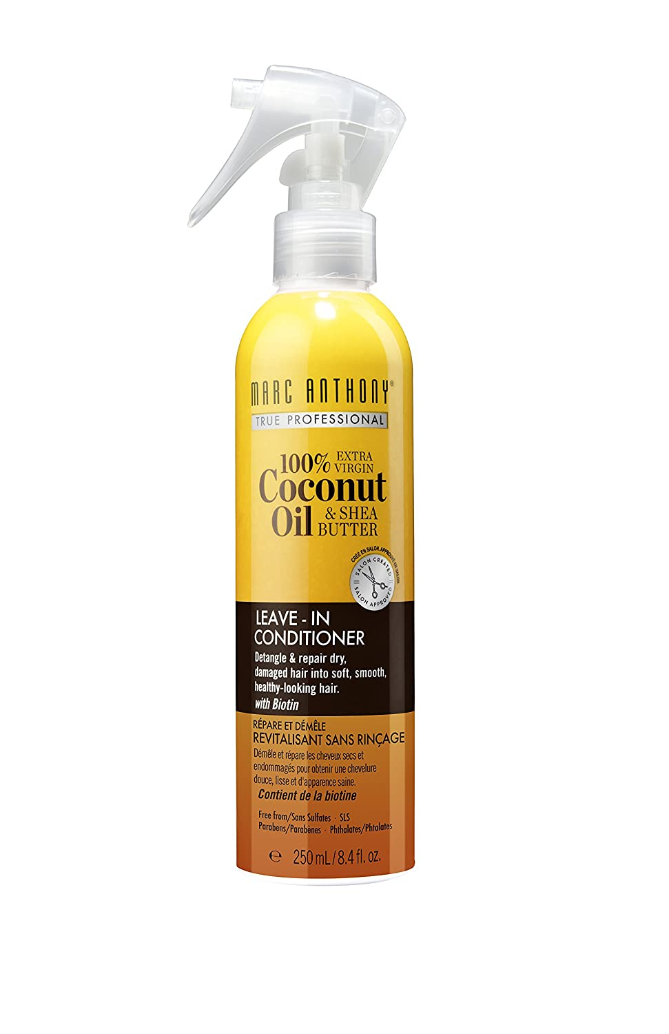 Marc Anthony Coconut Oil & Shea Butter Leave-In Conditioner, 8.4 Ounces