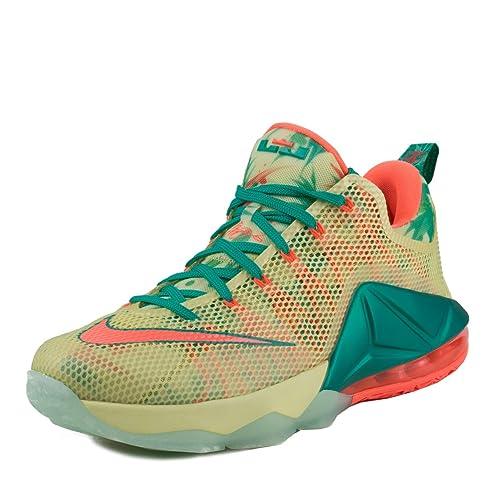 Lebron Xii Low para hombre Prm Entrenadores de Baloncesto 776652 zapatillas de deporte (uk 6
