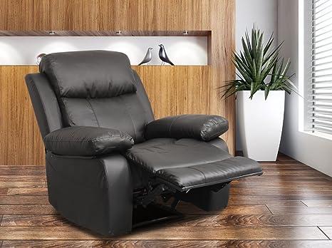 Poltrone Relax Tv.Poltrona Tv Poltrona Relax Con Funzione Sdraio Nero H