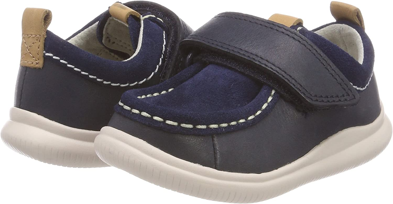 CLARKS Boys Cloud Sea Low-Top Sneakers