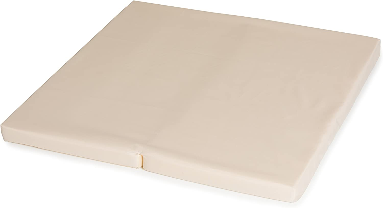 Hauck Sleeper SQ 90 x 90 cm plegable por la mitad incluida bolsa de transporte gris colch/ón para cuna de viaje y cuna parqu/é apto para cuna hauck SQ colch/ón de espuma 5cm de grossor