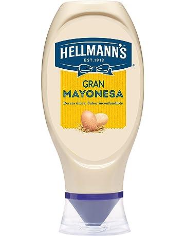 Hellmanns Mayo Bocabajo - 430 ml