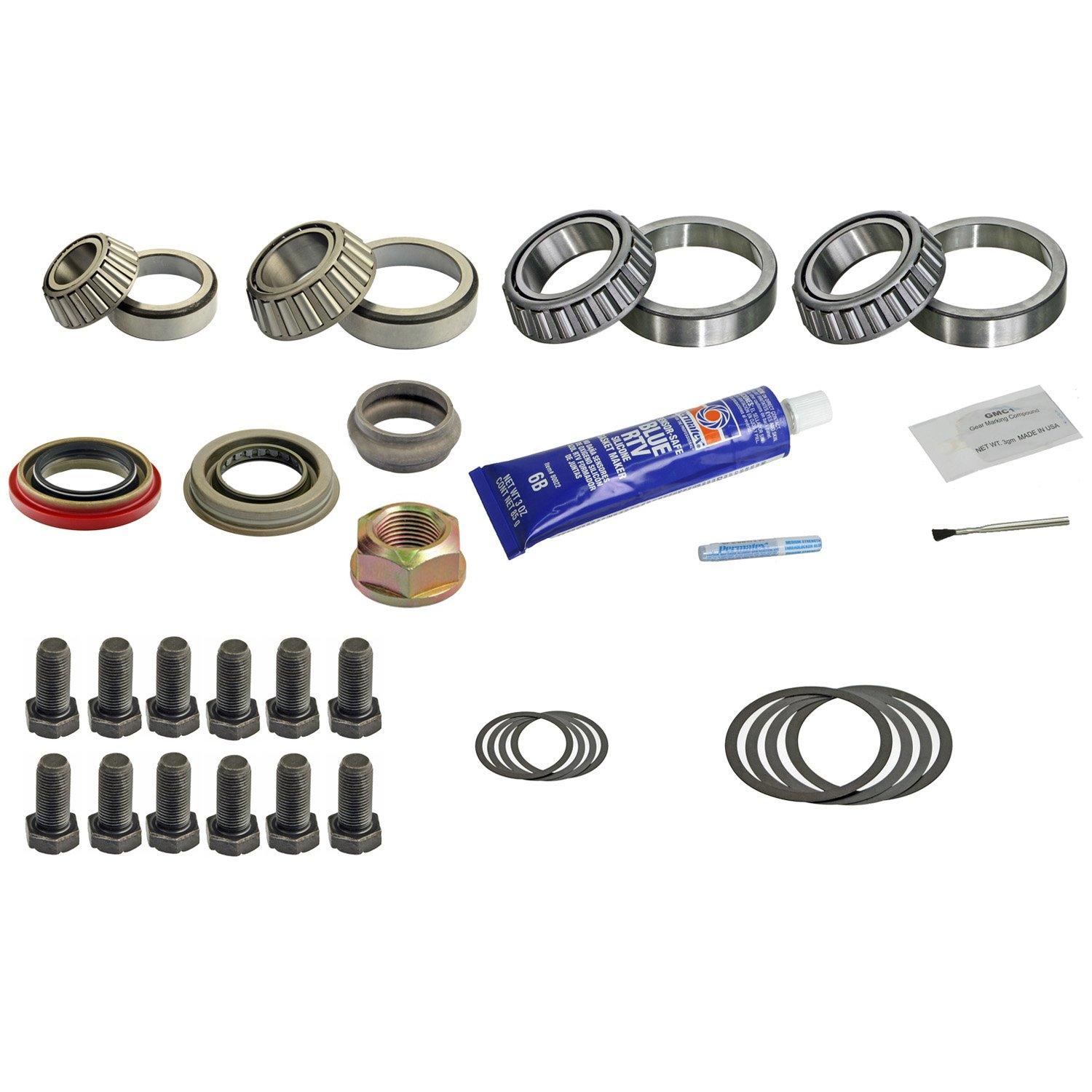 DRK331AMK Dana 60 Front Timken Master Diff Bearing Kit Ford F250/350/450/550 99+ DT COMPONENTS