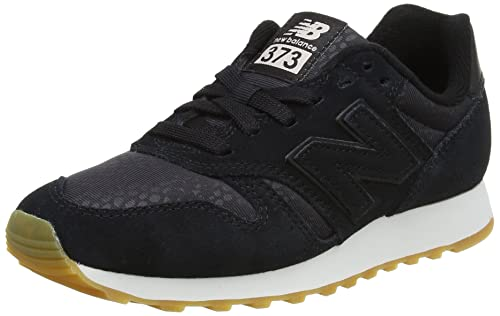 wholesale dealer e1401 3eb84 New Balance 373, Women s Low-Top, Black (Black), 3.5 UK