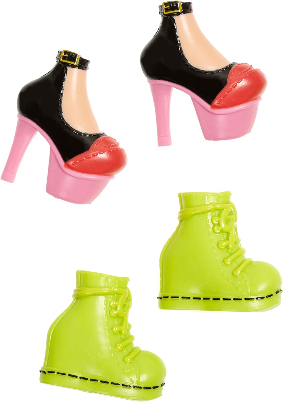 BRATZ SASHA Doll Clothes RICAMBI Viola con cinturini plateau shoes